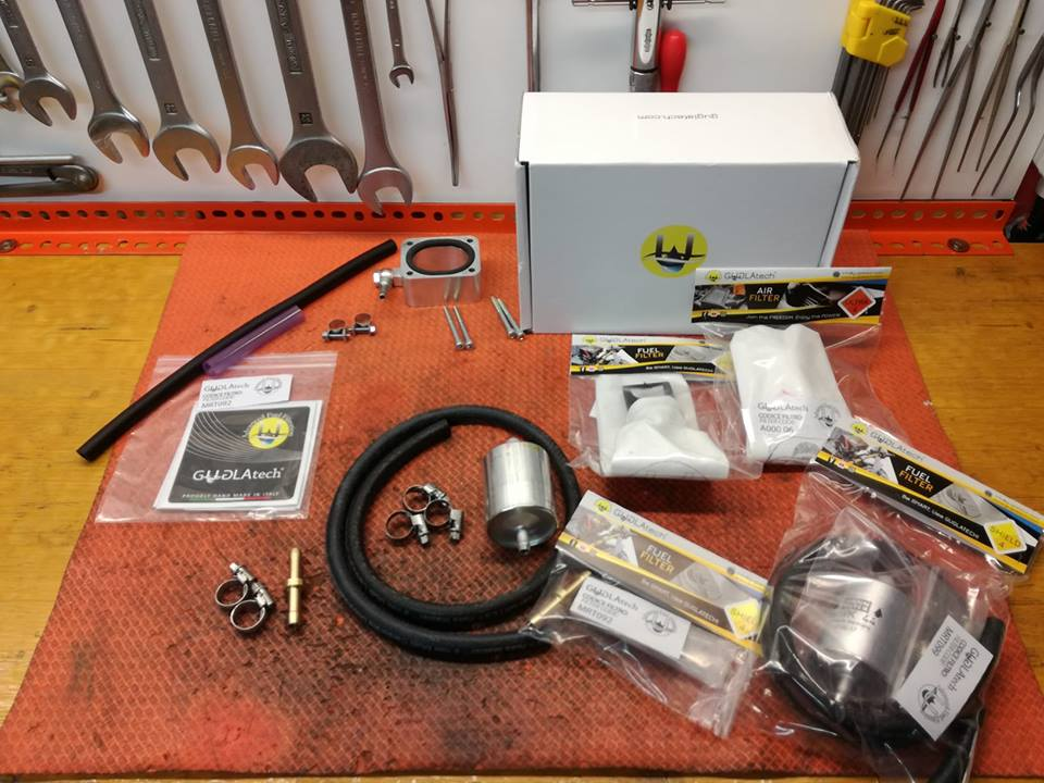 RALLY RAID FUEL SYSTEM BY GUGLATECH e N&M Team sui campi di gara.